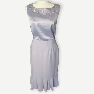 Laura Studio Vintage Y2K Lilac Skirt Set Size 4